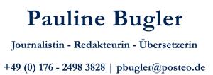 Pauline Bugler Logo